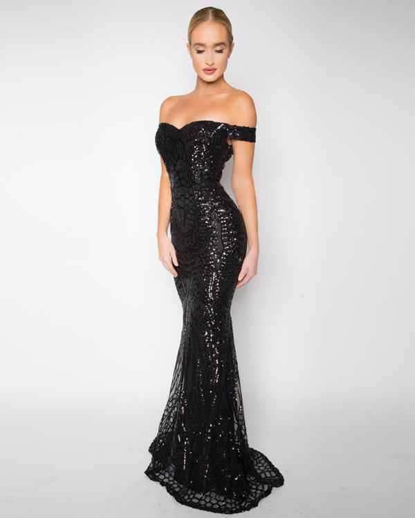 Sequined Mermaid Gowns
