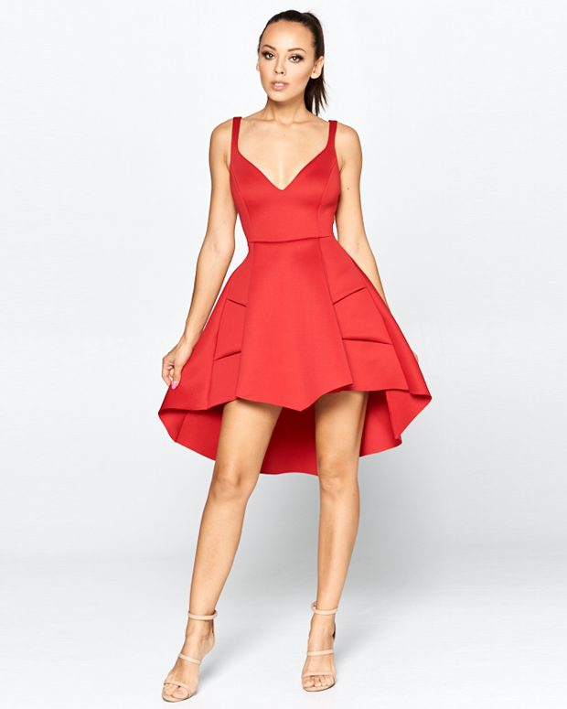 SCARLETT Hi Low Dress