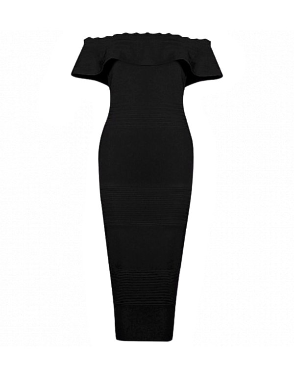 Sienna Dress | BLACK