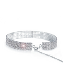 Paris Diamond Choker Necklace | 5 ROW