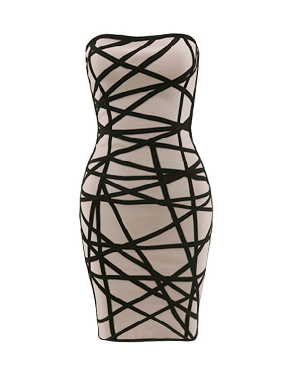 Zen Graphic Mini Dress