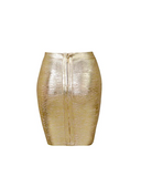 Luxe Gold Skirt
