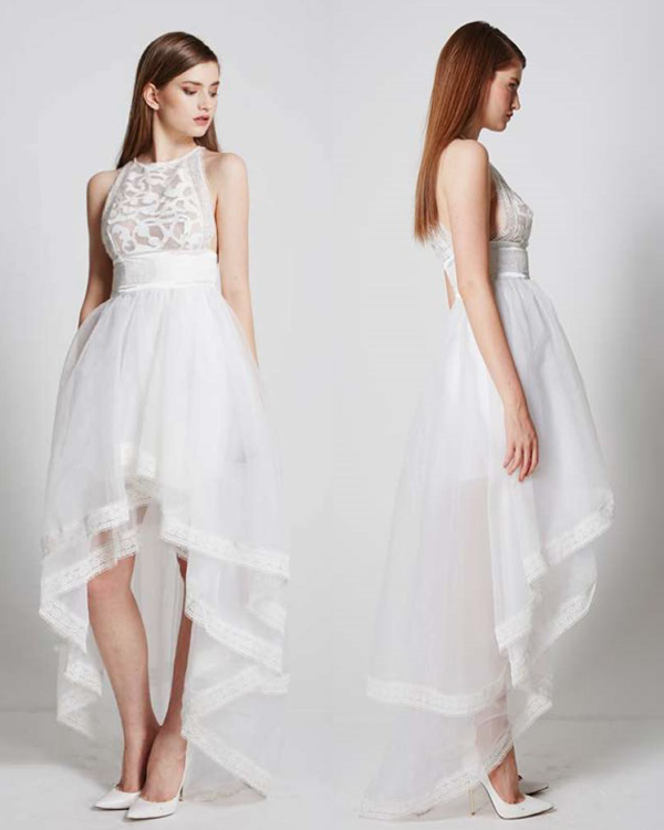 Amarii Lace Dress | WHITE