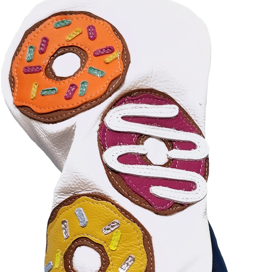The Four Donut Driver Headcover - Robert Mark Golf, The best custom golf headcovers,