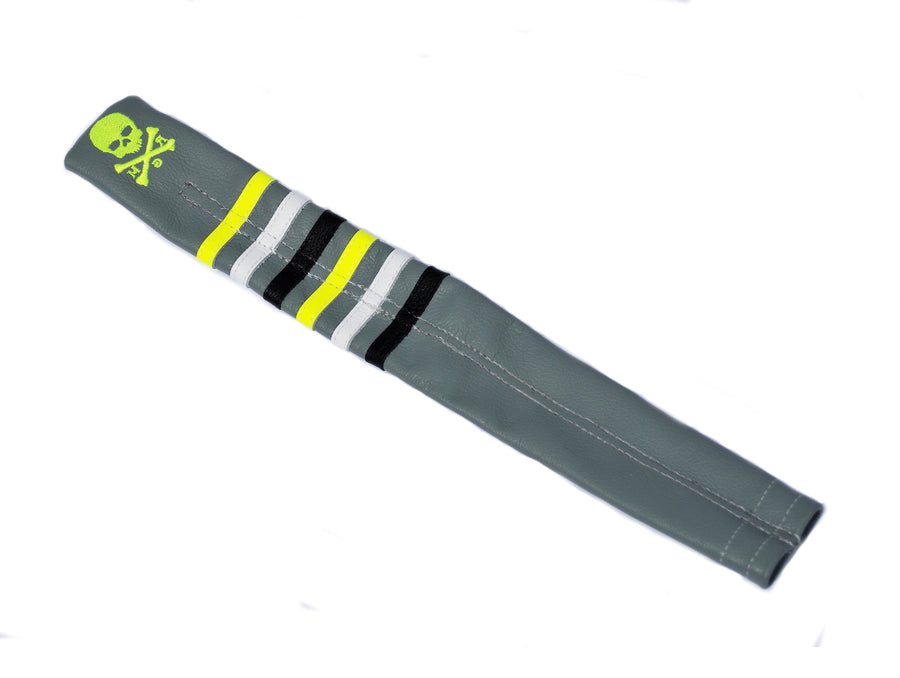 The Stripes Skull & Bones Alignment Sticks Cover - Robert Mark Golf