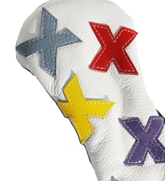 "The ""Dancing X's"" Hybrid Headcover"