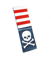 USA Skull & Bones Scorecard Holder - Robert Mark Golf, The best custom golf headcovers,