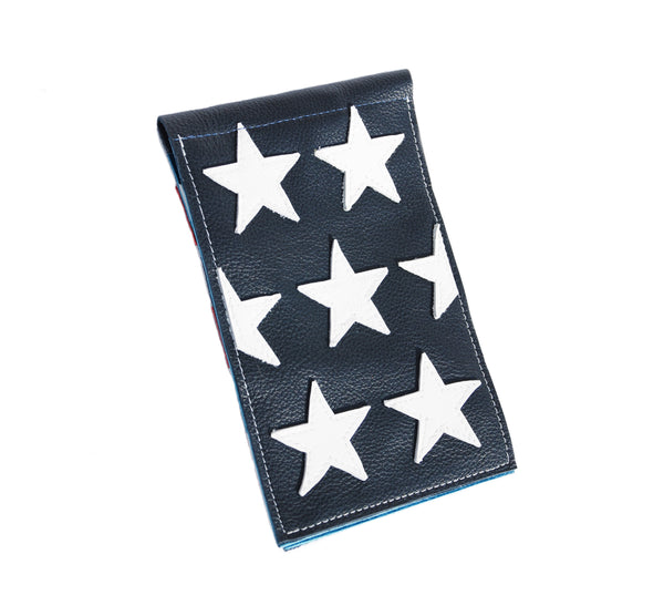 USA #1 Scorecard Holder - Robert Mark Golf, Scorecard Holder - Custom leather headcovers, unique golf headcovers, the best leather headcovers, golf headcovers, putter covers, custom golf putter covers
