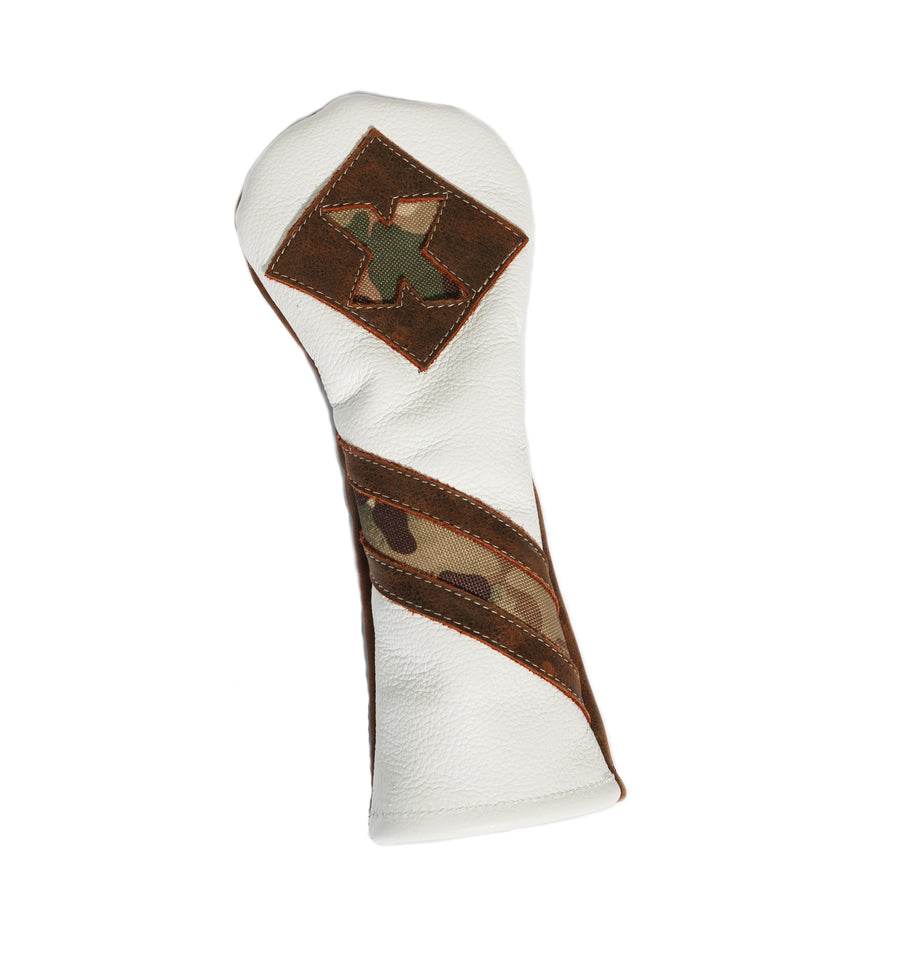 Camo Hybrid Headcover - Robert Mark Golf
