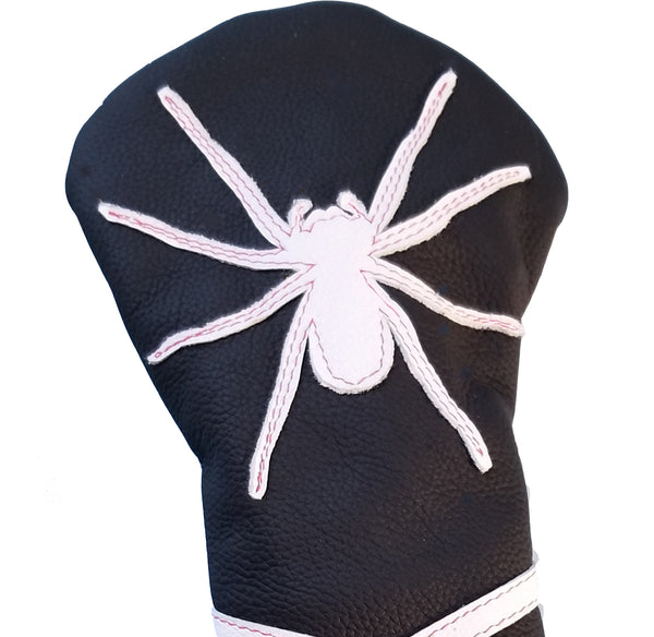 NEW! The RMG Spider Fairway Wood Headcover - Robert Mark Golf, Headcovers - Custom leather headcovers, unique golf headcovers, the best leather headcovers, golf headcovers, putter covers, custom golf putter covers