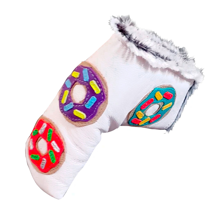 First Edition! The 4 Donut Blade Putter Cover - Robert Mark Golf, The best custom golf headcovers,