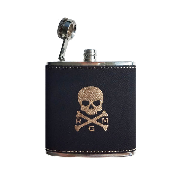New! The RMG Whiskey Flask - Robert Mark Golf,  - Custom leather headcovers, unique golf headcovers, the best leather headcovers, golf headcovers, putter covers, custom golf putter covers