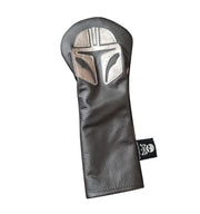"NEW! RMG LTD Edition ""Mandalorian Helmet"" Inspired Fairway Wood Headcover! - Robert Mark Golf"