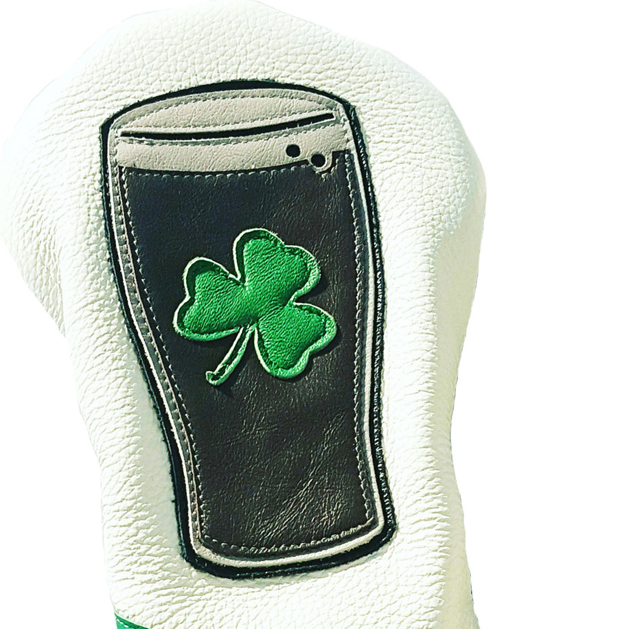 NEW! The Irish Pint Headcover - Robert Mark Golf, The best custom golf headcovers,