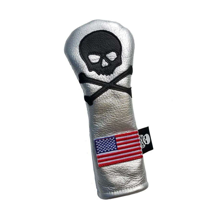 One-Of-A-Kind! Silver Spaceman Hybrid Headcover - Robert Mark Golf