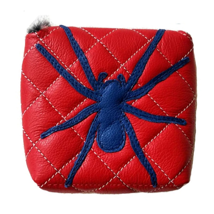 Tour Model/Itsy Bitsy Spider Putter Cover - Robert Mark Golf, The best custom golf headcovers,
