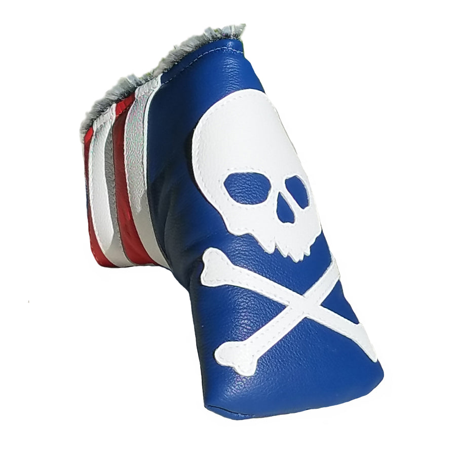 The USA Skull & Bones Putter Cover - Robert Mark Golf