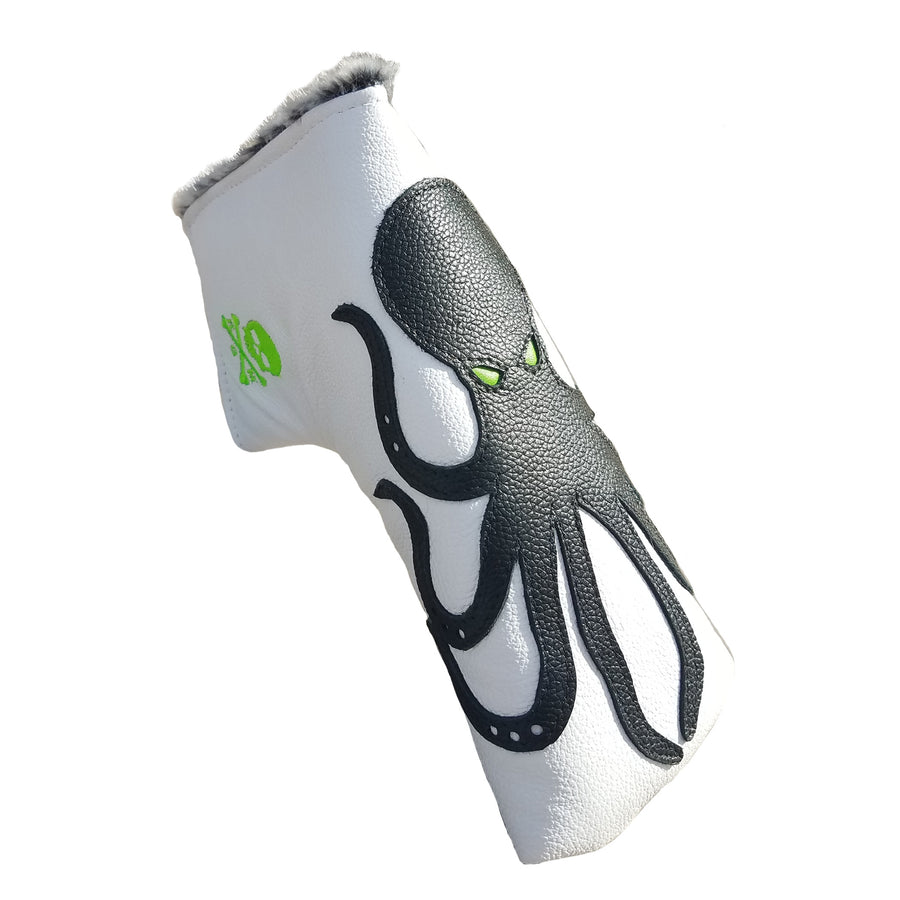 BACK IN STOCK! The Giant Squid Putter Cover - Robert Mark Golf, The best custom golf headcovers,