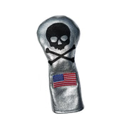 Limited Edition! Silver Spaceman Fairway Wood Headcover - Robert Mark Golf, The best custom golf headcovers,