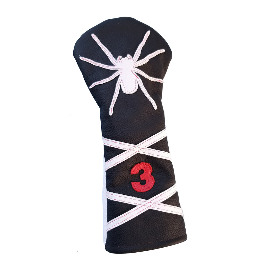 NEW! The RMG Spider Fairway Wood Headcover - Robert Mark Golf, The best custom golf headcovers,