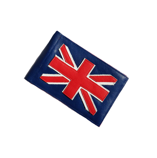 Robert Mark Golf Union Jack Scorecard Holder