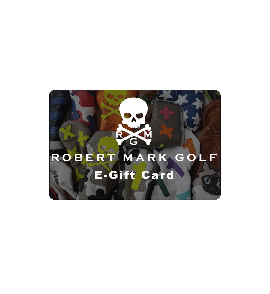 RMG E-Gift Card - Robert Mark Golf, The best custom golf headcovers,