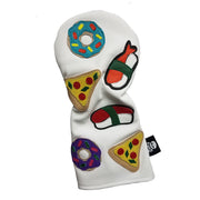 The Sushi Donut Pizza Combo Driver Headcover - Robert Mark Golf, The best custom golf headcovers,
