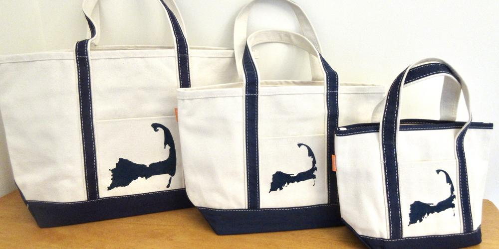 Cape Cod canvas travel bag