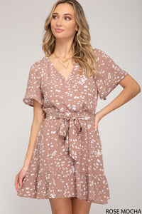 Sweet Creature Dress - Rose Mocha
