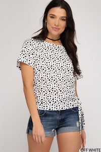 Doin' Fine Dotted Top