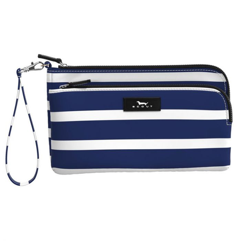 SCOUT Kelly Wristlet - Nantucket Navy