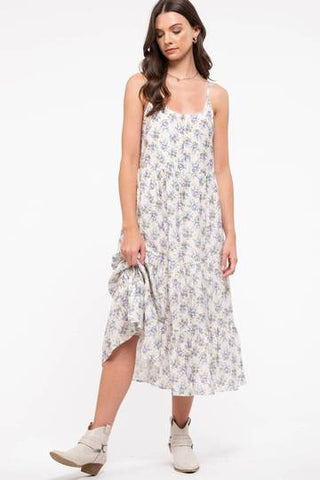 Take Me to the Lakes Midi Dress