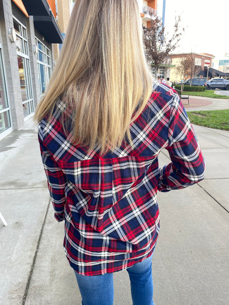 Patriotic Plaid Shirt