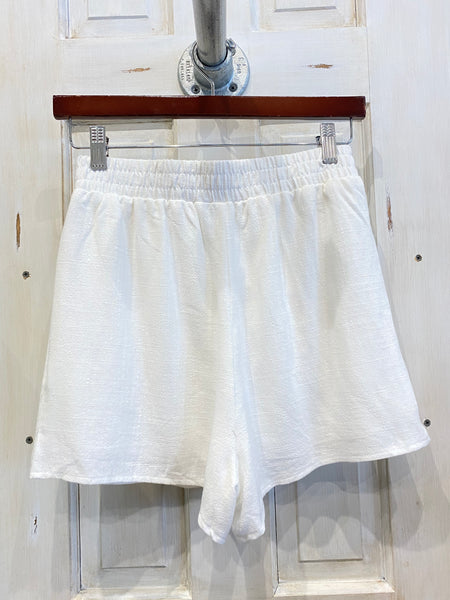 Linen Love Short- White
