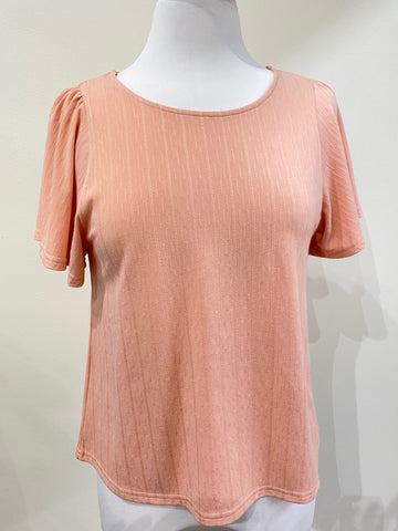 Person Street Top- Blush