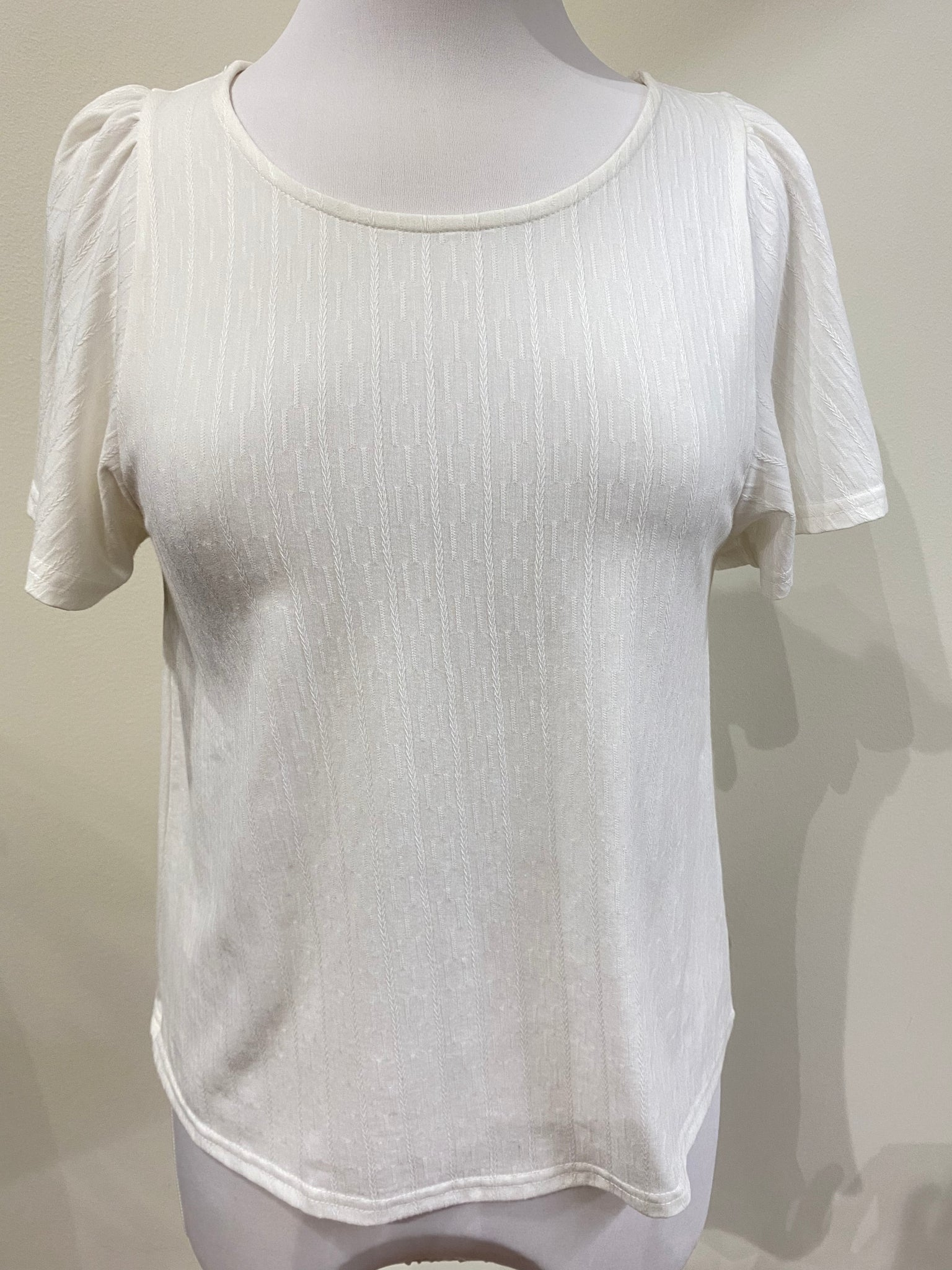 Person Street Top- White
