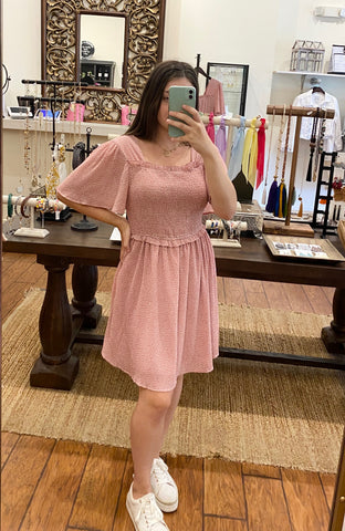Brunch Blush Dress