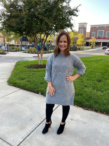 Free Falling Sweater Dress