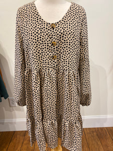 Clare Cheetah Dress