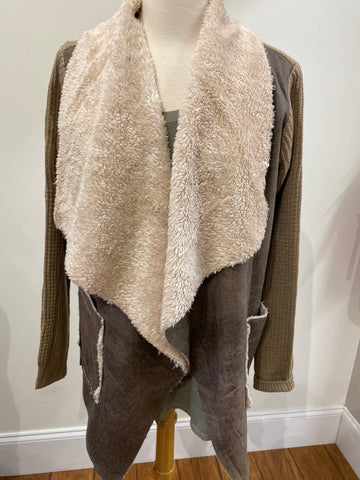 Cold Coffee Cardigan