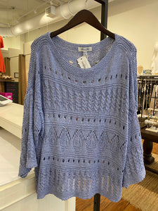 Franklin Street Sweater - misty blue