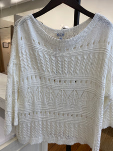 Franklin Street Sweater - cream