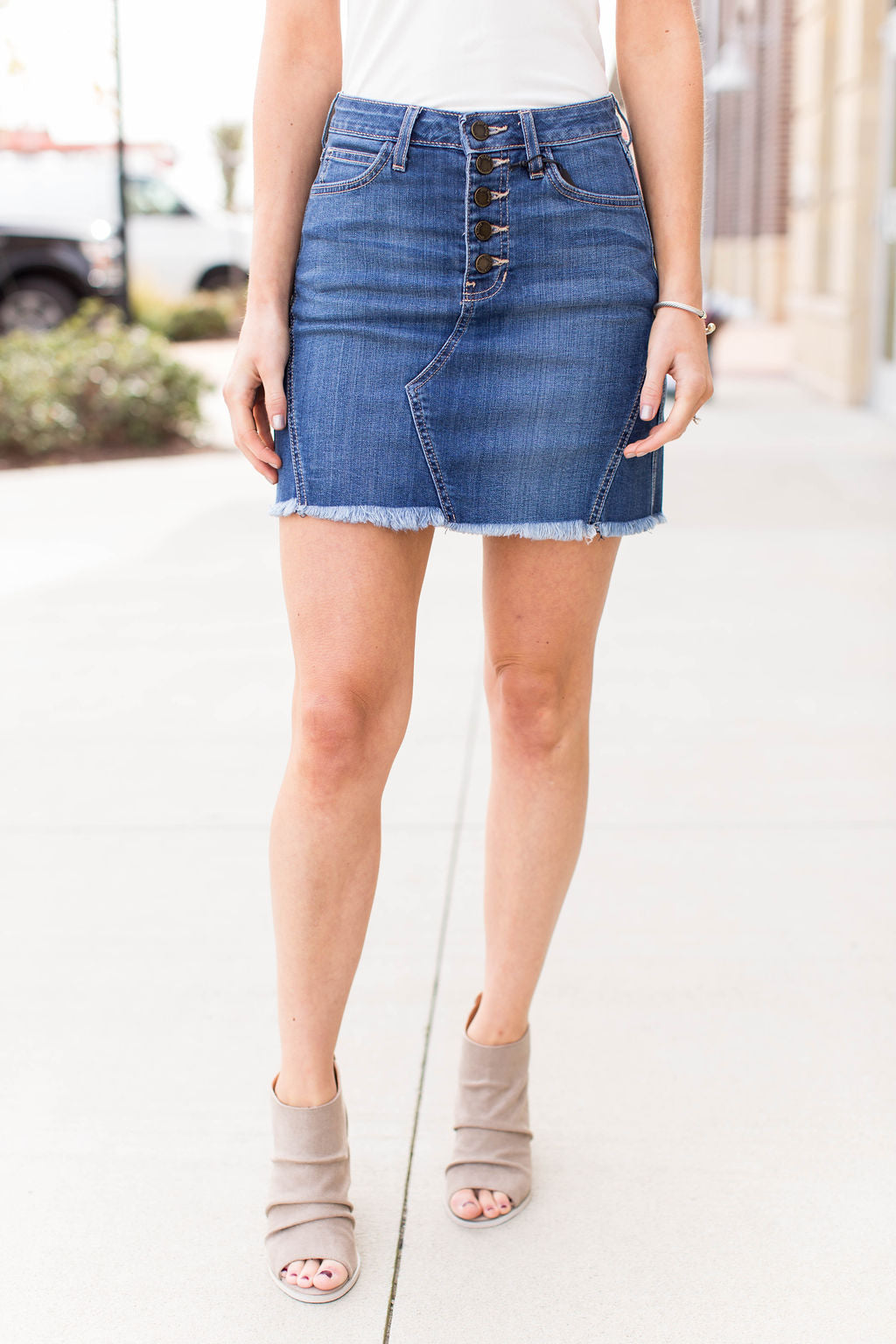 JB Denim Skirt