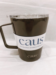 CAUS Coffee Tumbler with Handle - Seize the Gray