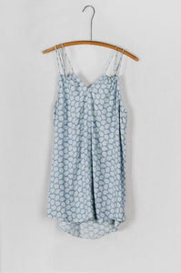 Sky Blue Strappy Dress