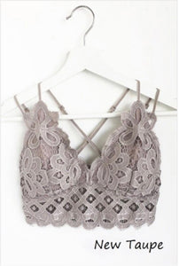 Anemone Bralette - New Taupe
