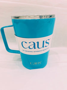 CAUS Coffee Tumbler with Handle - It's Electric