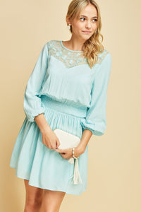 Beautiful Soul Dress - Blue