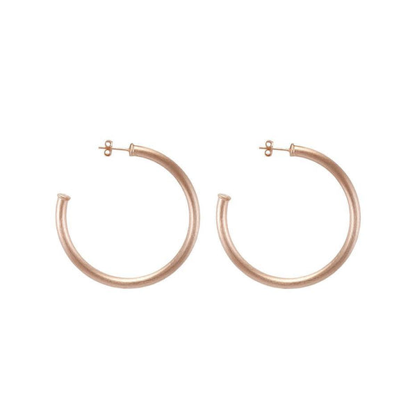 Sheila Fajl - Petite Everybody's Favorite Hoops - Champagne 18K Gold Plated