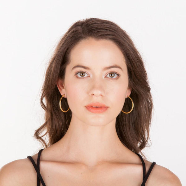 Sheila Fajl - Petite Everybody's Favorite Hoops - 18K Gold Plated